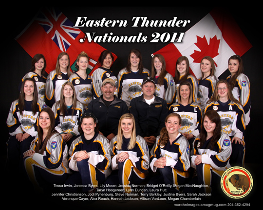 Easter Thunder - Gold Medalists